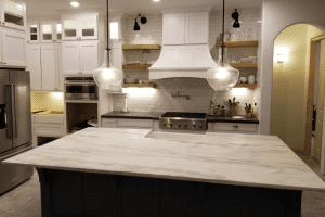 Custom kitchen counters - custom marble countertops